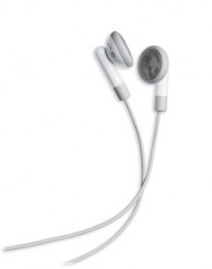 Айпод і його навушники, які мене радують