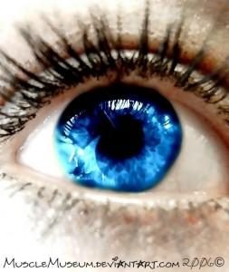 Красивые глаза - это зеркало души такой же красивой и чистой