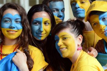 Вболівай за Україну! Вболівай за наших :)