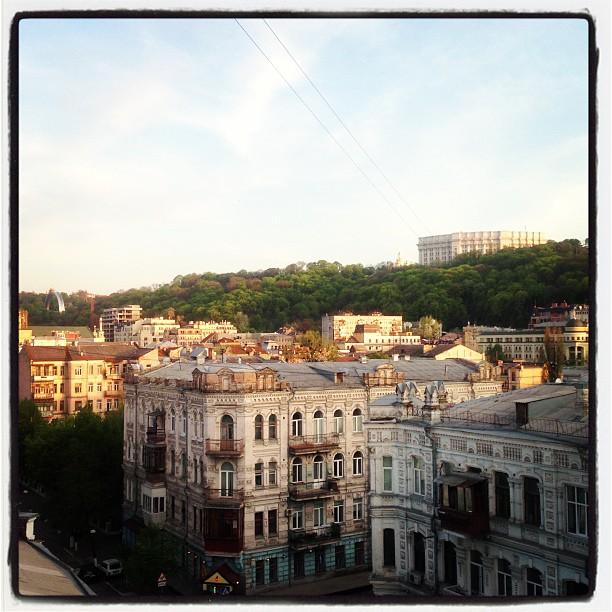 Мій красивий Київ з вікна