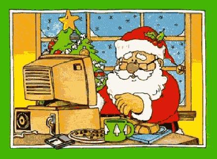 С Новым Годом! Дедушка Мороз - хакер