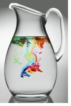 Вода і фарби. Інколи достатньо декількох крапель кольорів, щоб змінити стандартне бачення речей