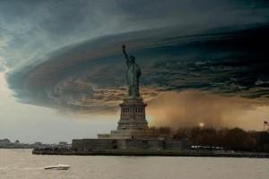 Ураган Сенді в Нью-Йорку. Красиве фото, але надто небезпечне