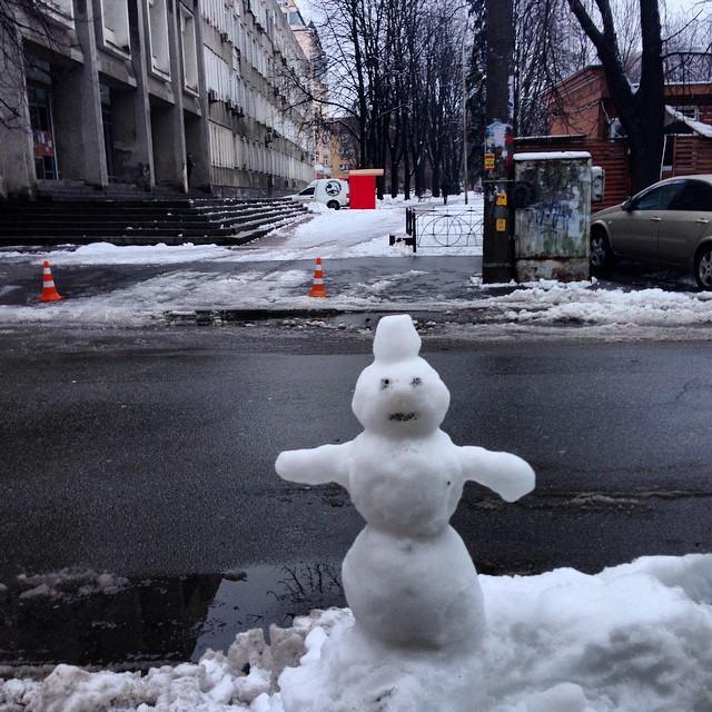 Сніговик і МАФ