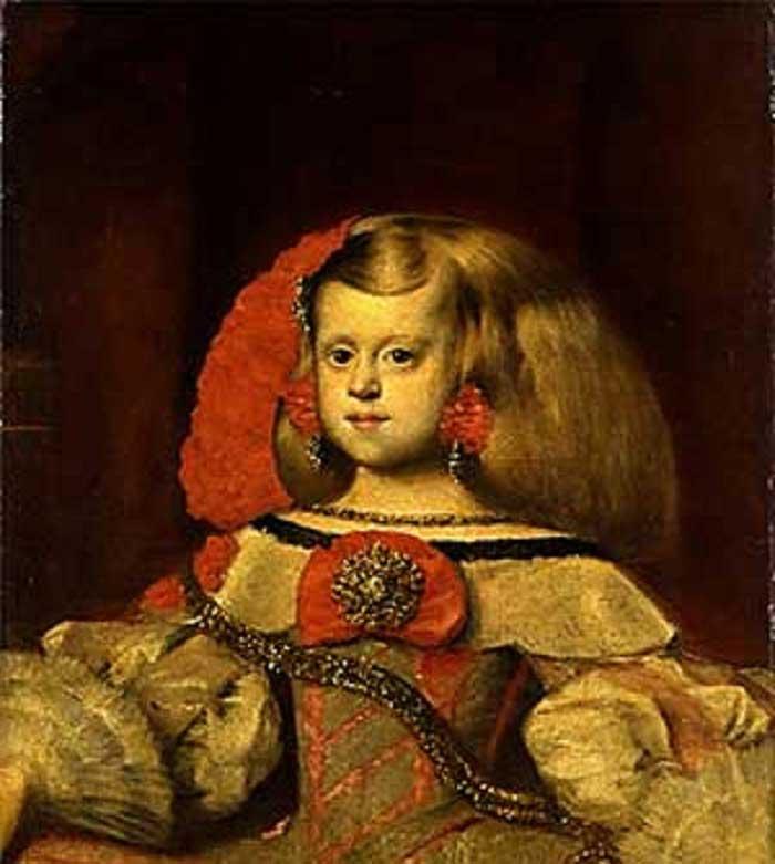 Портрет Інфанти Маргарити. Художник - Дієго Веласкес (Portrait of the Infanta Margarita. Painting by Diego Velázquez in Kyiv)