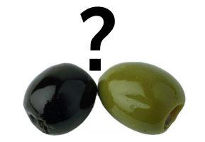 В чому різниця між оливками і маслинами - таємницю розгадано :)